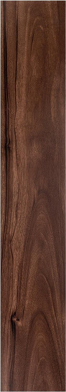 Achim Imports VFP1.2HK10 Nexus Hickory 6 x 36 Self Adhesive Vinyl Floor Planks-10 Planks/15 Sq Ft, Piece, 10