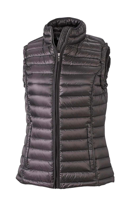 James & Nicholson Damen Jacke Weste Ladies Quilted Vest B00PDFNGOY Westen Leicht zu reinigende Oberfläche