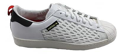 Adidas Originals Superstar 80s Shield Shield Shield Sneaker Schuh weiß, Schuhgröße 020342