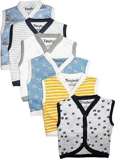 6e4740e47 Tinchuk Cotton Front Open Sleeveless Vest- Tshirt -Perfect Summer ...
