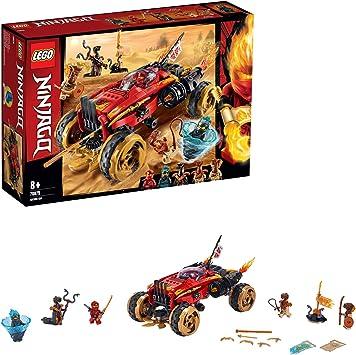 Comprar LEGO Ninjago - Catana 4 x 4 Juguete de construcción de Vehículo Ninja, el Set Incluye Minifiguras de Guerreros, Novedad 2019 (70675) , color/modelo surtido