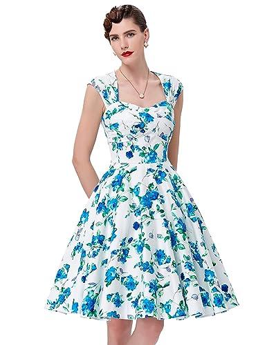 50s Vintage Picnic Dresses for Women BP0024