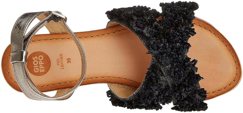 Gioseppo 44121, Sandali Punta Aperta Donna (Black) Nero (Black) Donna 5ae0ed