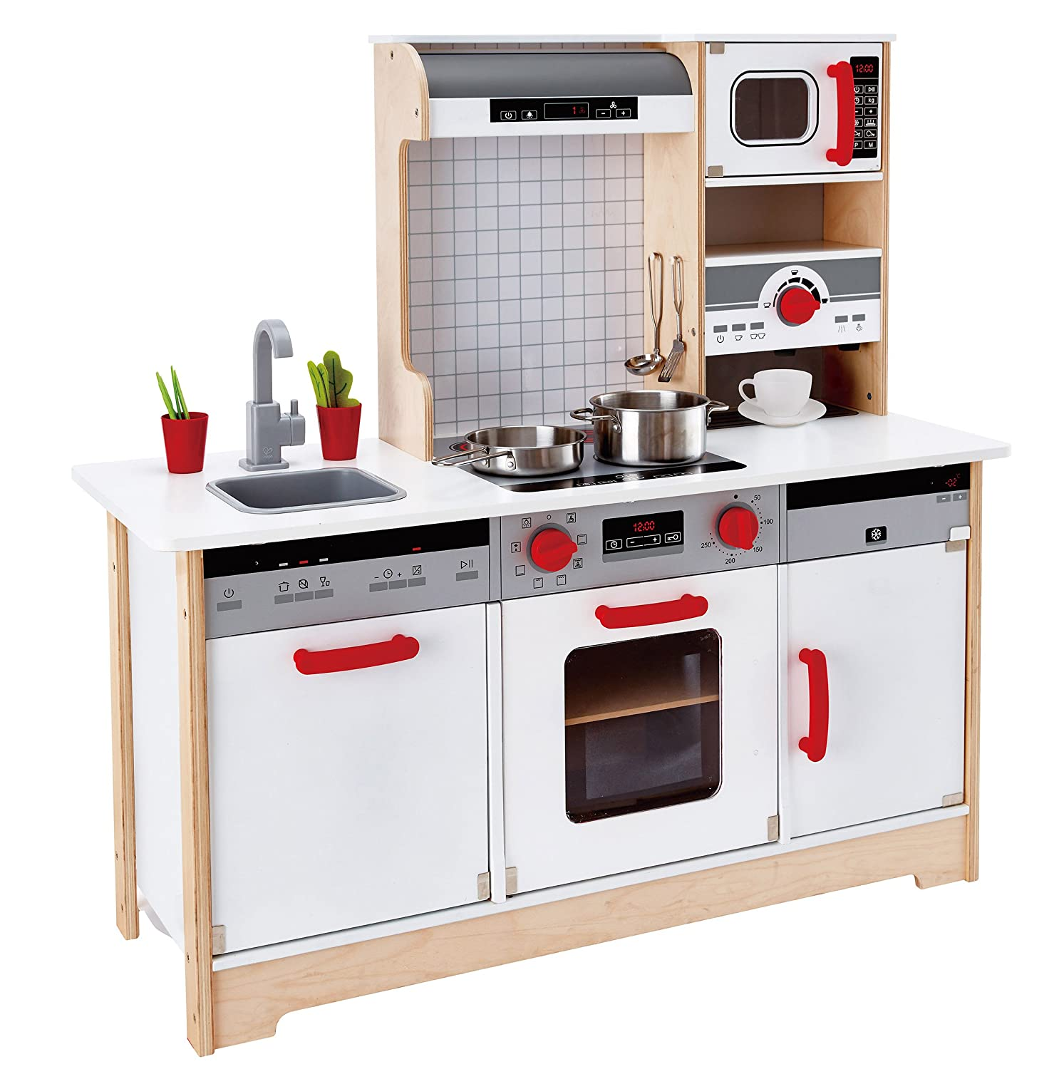 Hape E3145 All-in-One Kitchen: Amazon.co.uk: Toys & Games