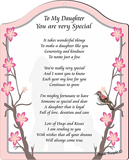 you are very special poem