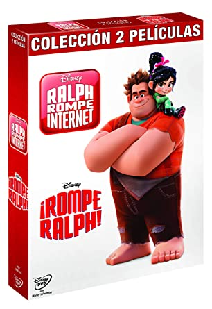 Pack Rompe Ralph 1+2 [DVD]: Amazon.es: Personajes animados, Rich Moore, Phil Johnston, Personajes animados: Cine y Series TV