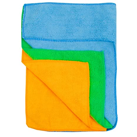 Detailer's Choice 3-503 Roll of Microfiber Cleaning Cloths - 3-Pack - 1-Each