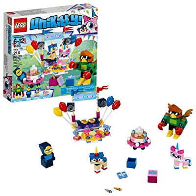 LEGO Unikitty! Party Time 41453 Building Kit (214 Pieces): Toys & Games