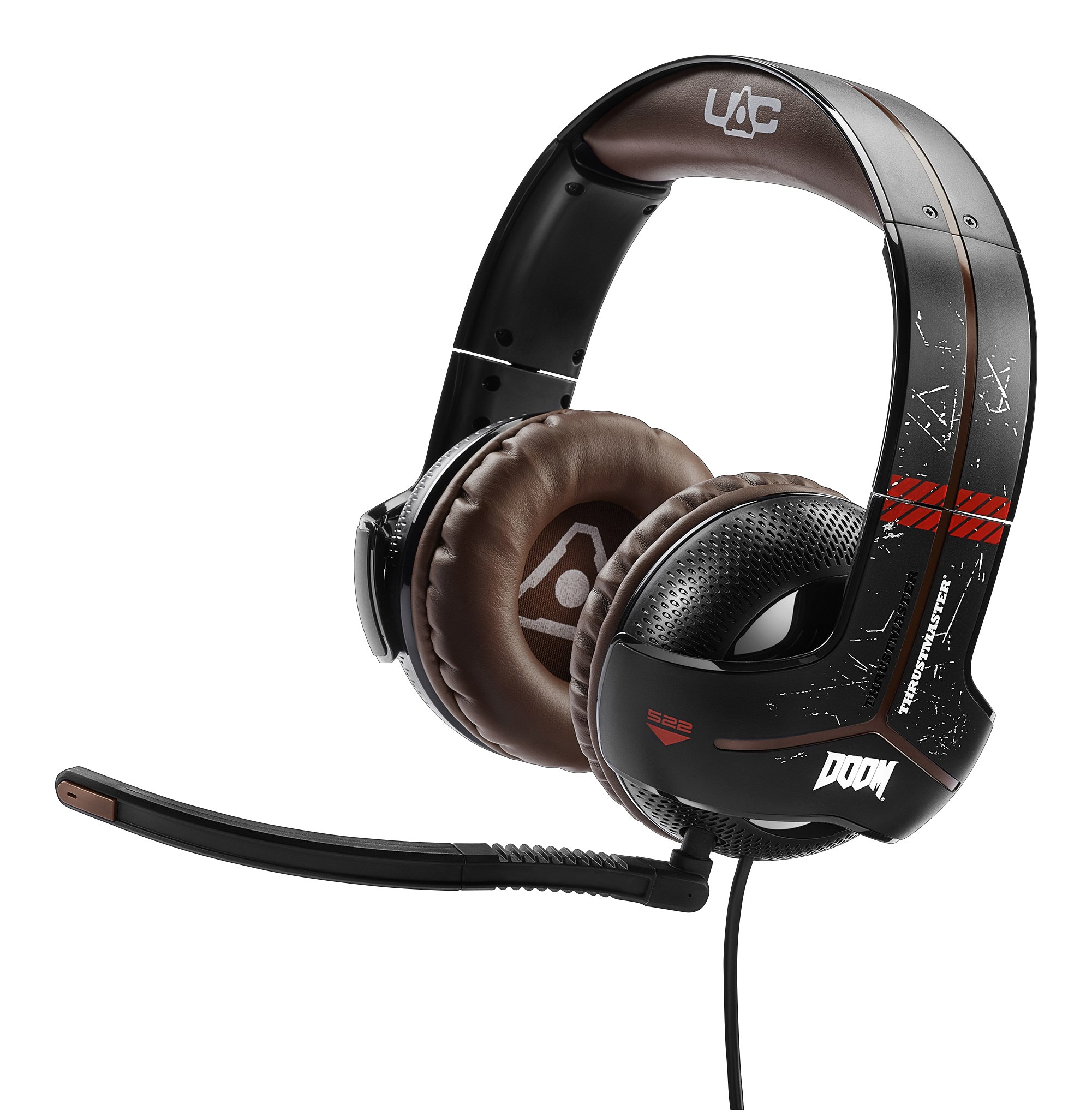Thrustmaster Y-300CPX DOOM Edition Universal USB Audio Gaming Headset