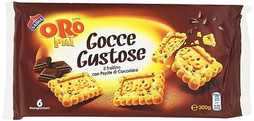 7 opinioni per Saiwa- Gocce Gustose, Frollini con Pepite di Cioccolato, Pacco da 6X50 g,