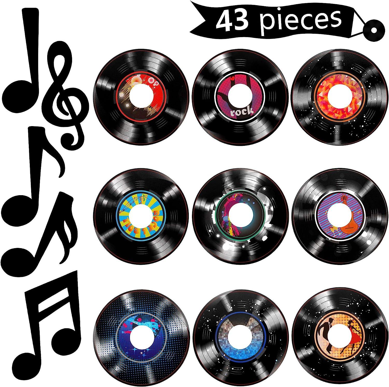 Amazon.com: 11 Pieces Music Party Decorations Music Notes Cutouts