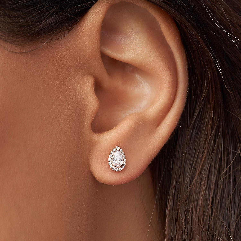 Pandora Rose Radiant Teardrops Stud Earrings