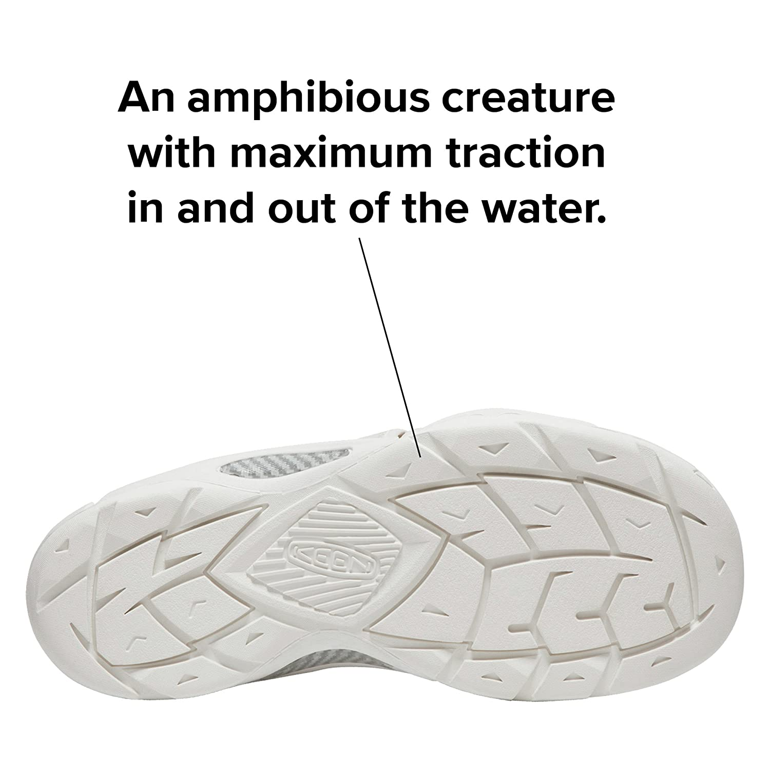 KEEN Women's EVOFIT ONE Water Sandal for Outdoor Adventures B072QR6BZ9 8 M US|Triple White