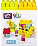 Mega Bloks - 81254 - Jeu De Construction - First Builders - L'Autobus De L'Orthographe - 44 Pièces