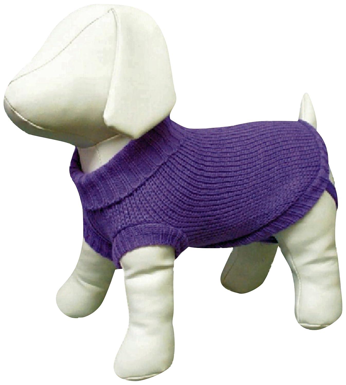 Amazing Pet Products Dog Sweater, 26-Inch, Purple