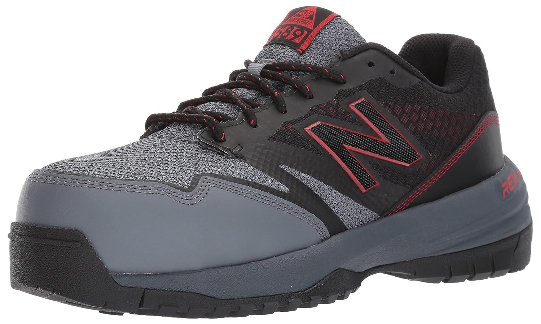 New Balance Men's 589V1 Work Training Shoe B01NB9QLK0 7 2E US|Black/Red