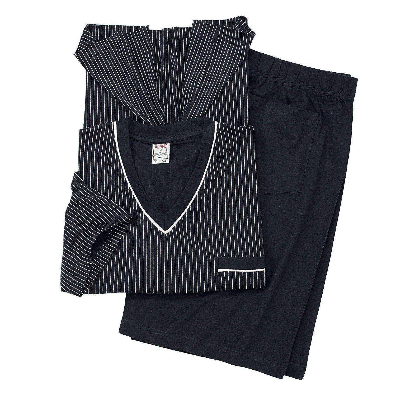 ADAMO Kurzarm Schlafanzug in weinrot der Firma 9XL ÜBERGRÖSSEN 1929