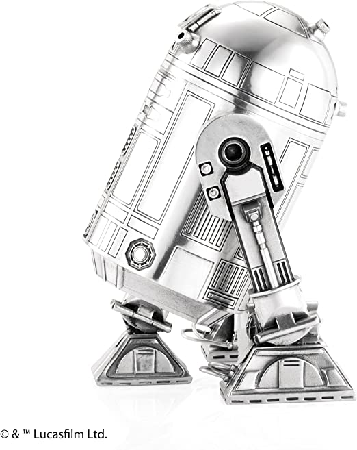 Star Wars By Royal Selangor 016812R R2-D2 Pewter Canister Figurine