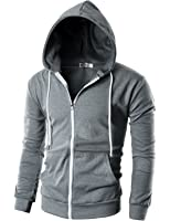 Alternative Men's Eco Zip Hoodie Sweatshirt at Amazon Men's ...