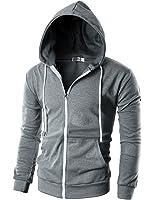 Alternative Men's Eco Zip Hoodie Sweatshirt at Amazon Men's ...