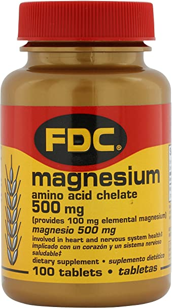 FDC Magnesium 500mg Amino Acid Chelate