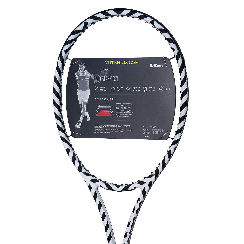 Amazon.com : |VuTenniscom| Wilson Pro Staff 97L Tennis ...