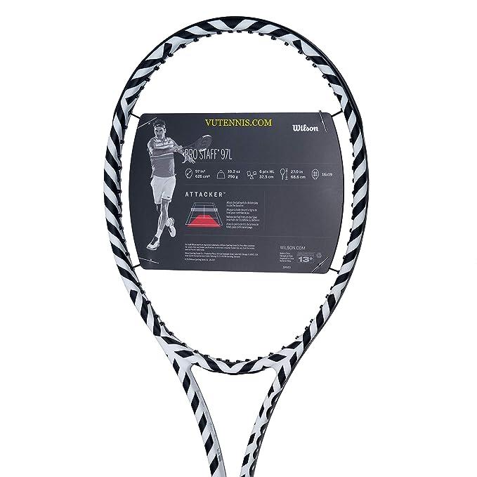 Amazon.com :  VuTenniscom  Wilson Pro Staff 97L Tennis ...