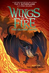 The Dark Secret (Wings of Fire Graphic Novel #4): A Graphix Book Kindle Edition