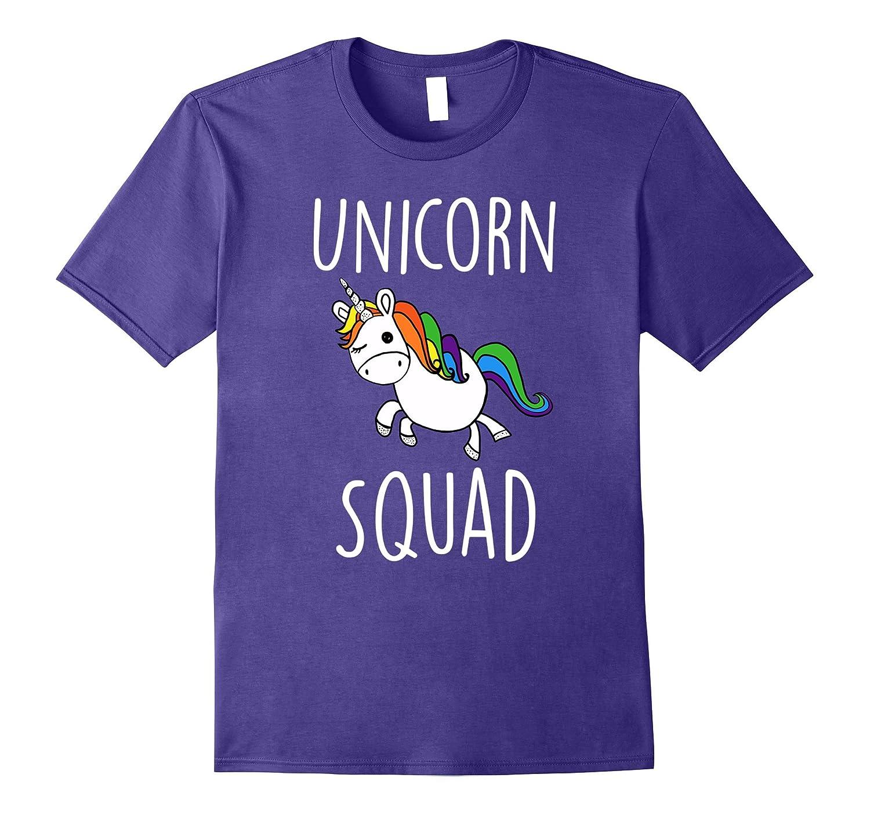 Unicorn Squad Cute Funny Unicorn Party T-Shirt-CD