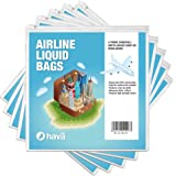 Hava: Air Travel Liquid Cabin Bag Regulation Resealable Bags (Five Pack)