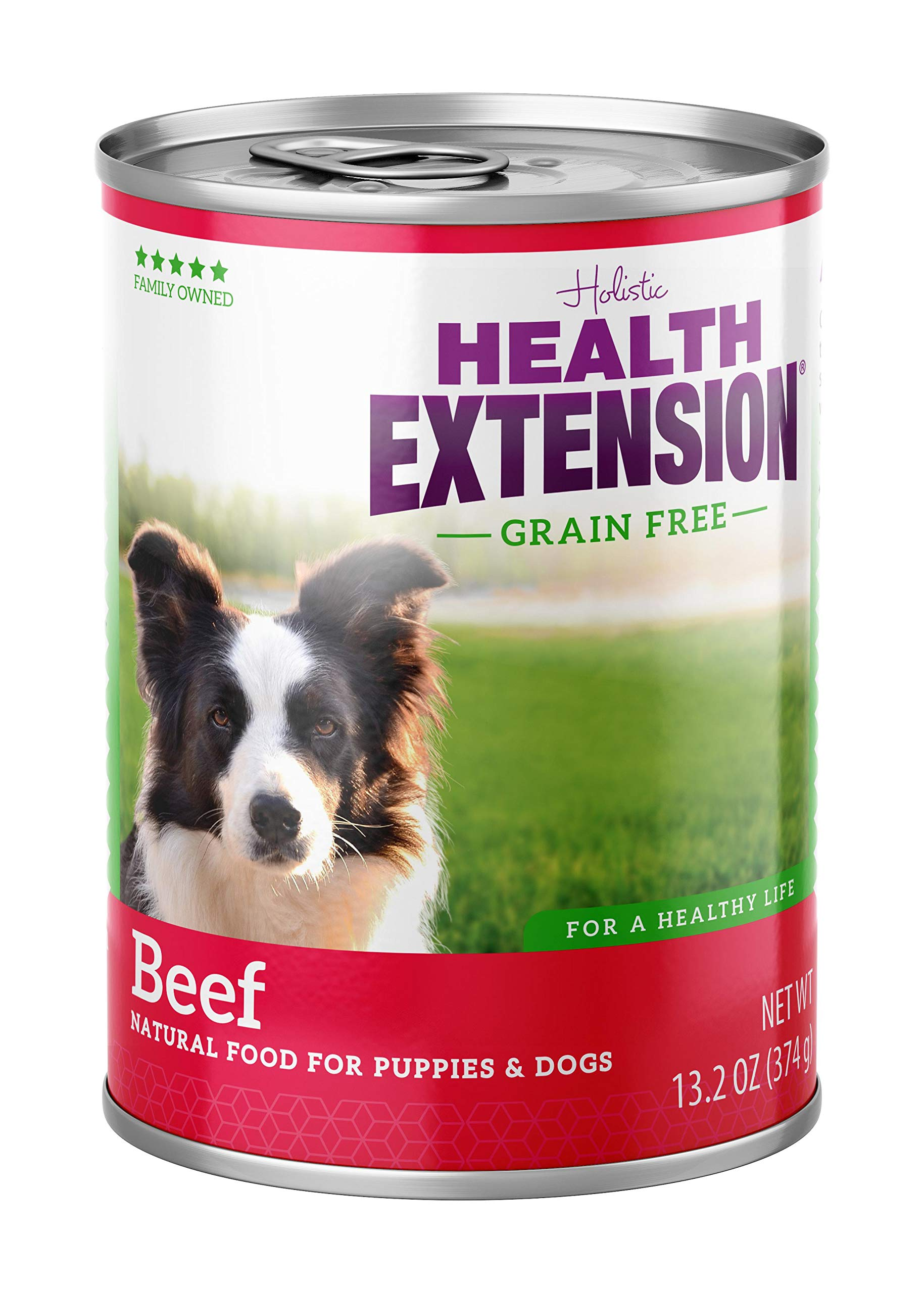 Health Extension Grain Free 95% Beef 13.2-Ounces, Case Of 12 by Health Extension