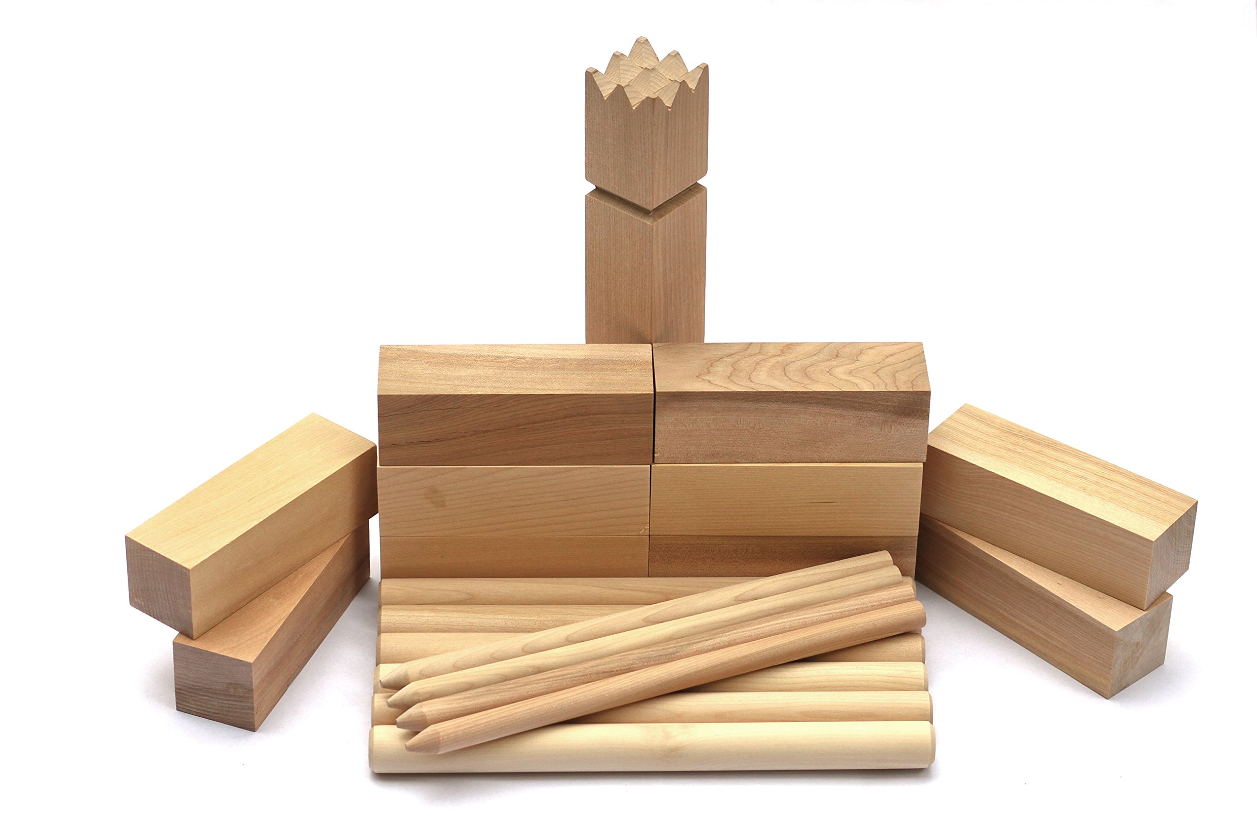 KOOB The Viking Game - hardwood kubb game set product image