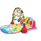 SURREAL 3 in 1 Pianoforte per bambini PlayMat Musica e luci - rosa