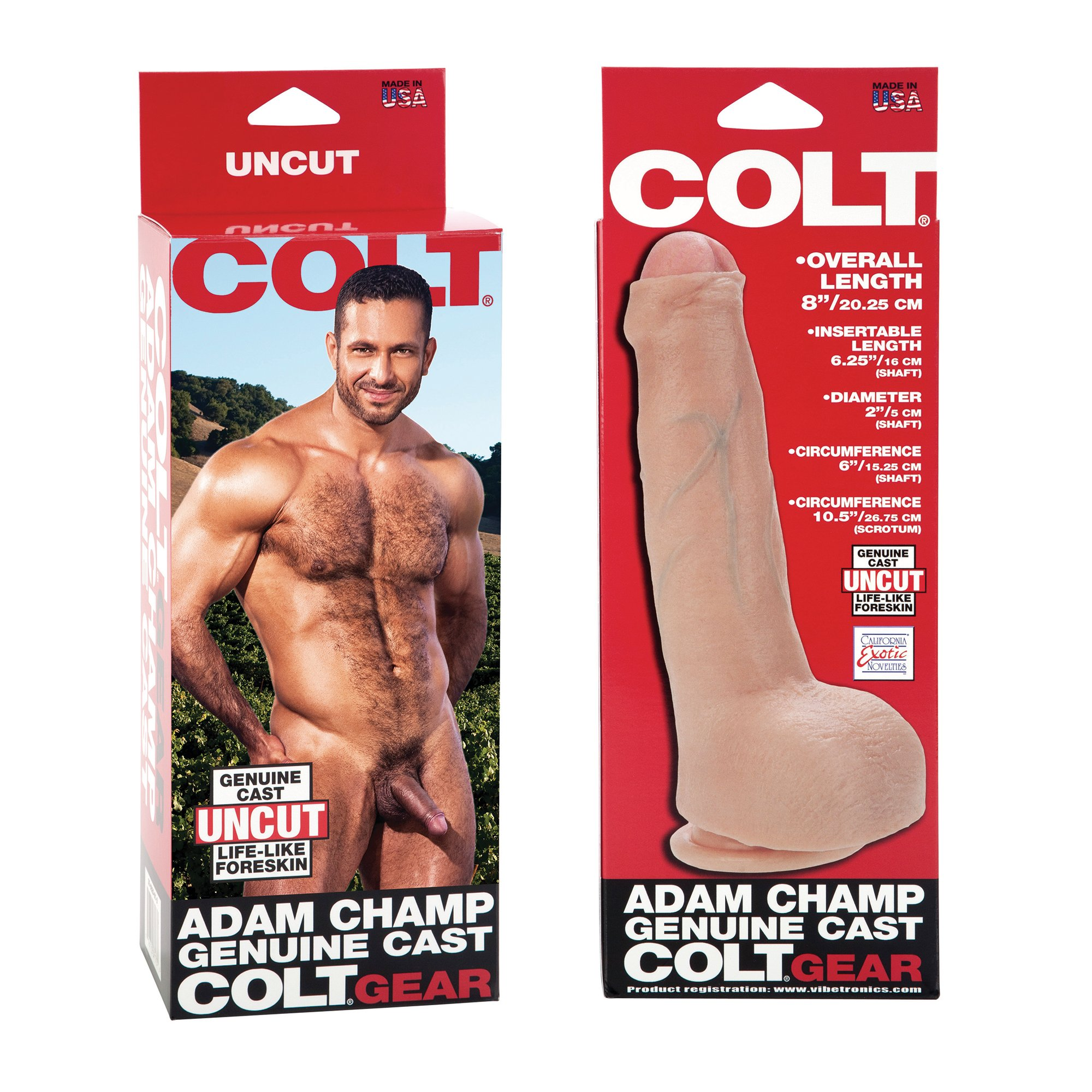 California Exotic Novelties Colt Adam Champ Cock