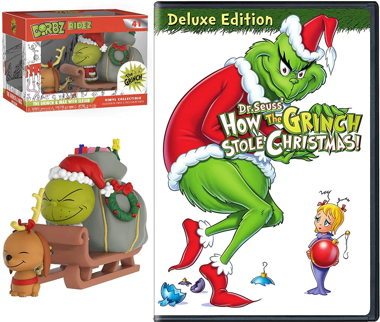 How The Grinch Stole Christmas Cartoon.Amazon Com Sleigh Grinch Max Original Cartoon Story Dr