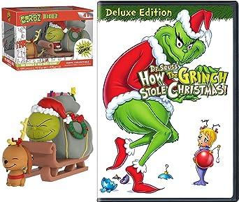 How The Grinch Stole Christmas 1966 Max.Amazon Com Sleigh Grinch Max Original Cartoon Story Dr