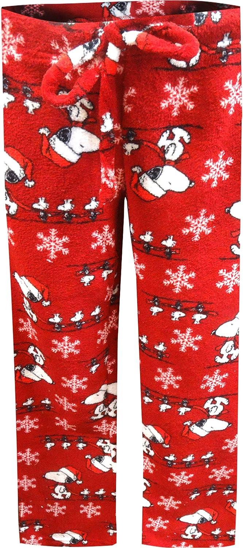 Snoopy Christmas Lounge PJ Sleep Pants /& Shirt Peanuts Medium Ladies Pajama Set