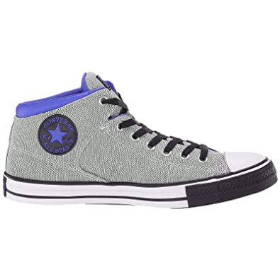 711d7d6bef Converse Mens Chuck Taylor All Star High Street Hi Leather Trainers ...