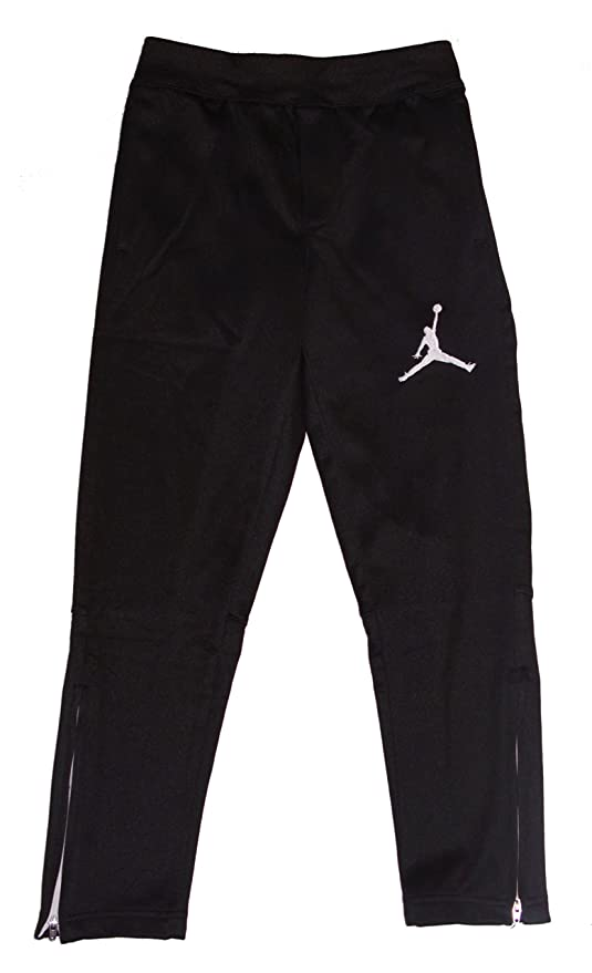 more photos 79072 96f89 Image Unavailable. Image not available for. Color  Nike Air Jordan Boys  Therma Fit Fleece Basketball Pants Black Large