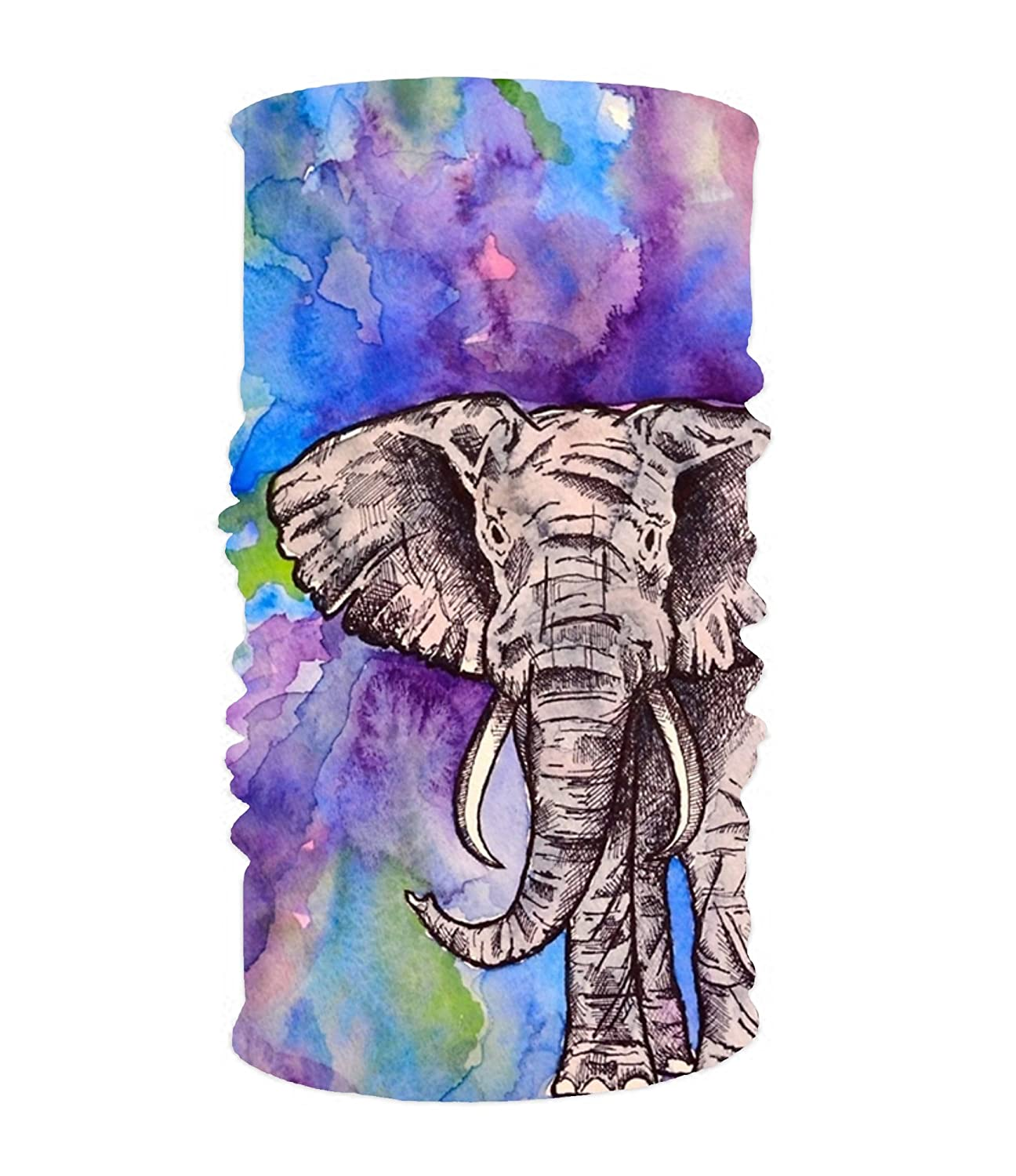 Amazon Com Art Elephant 16 In 1 Magic Scarf Face Mask Balaclava
