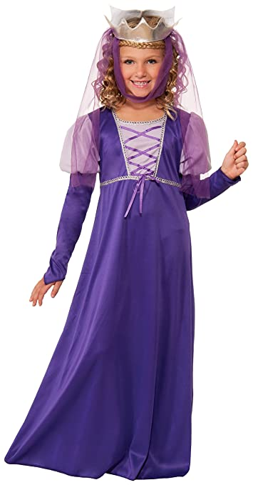 Forum Novelties Renaissance Queen Child Costume, Large