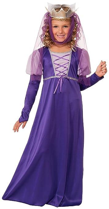 Forum Novelties Renaissance Queen Child Costume, Large