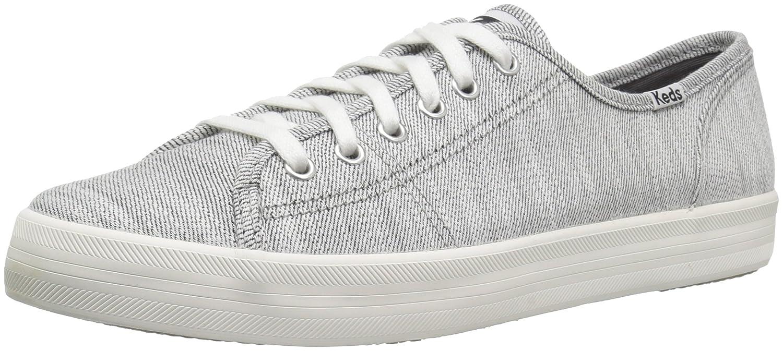 Keds Women's Kickstart Denim Twill Sneaker B078WLVHCN 9.5 M US|White