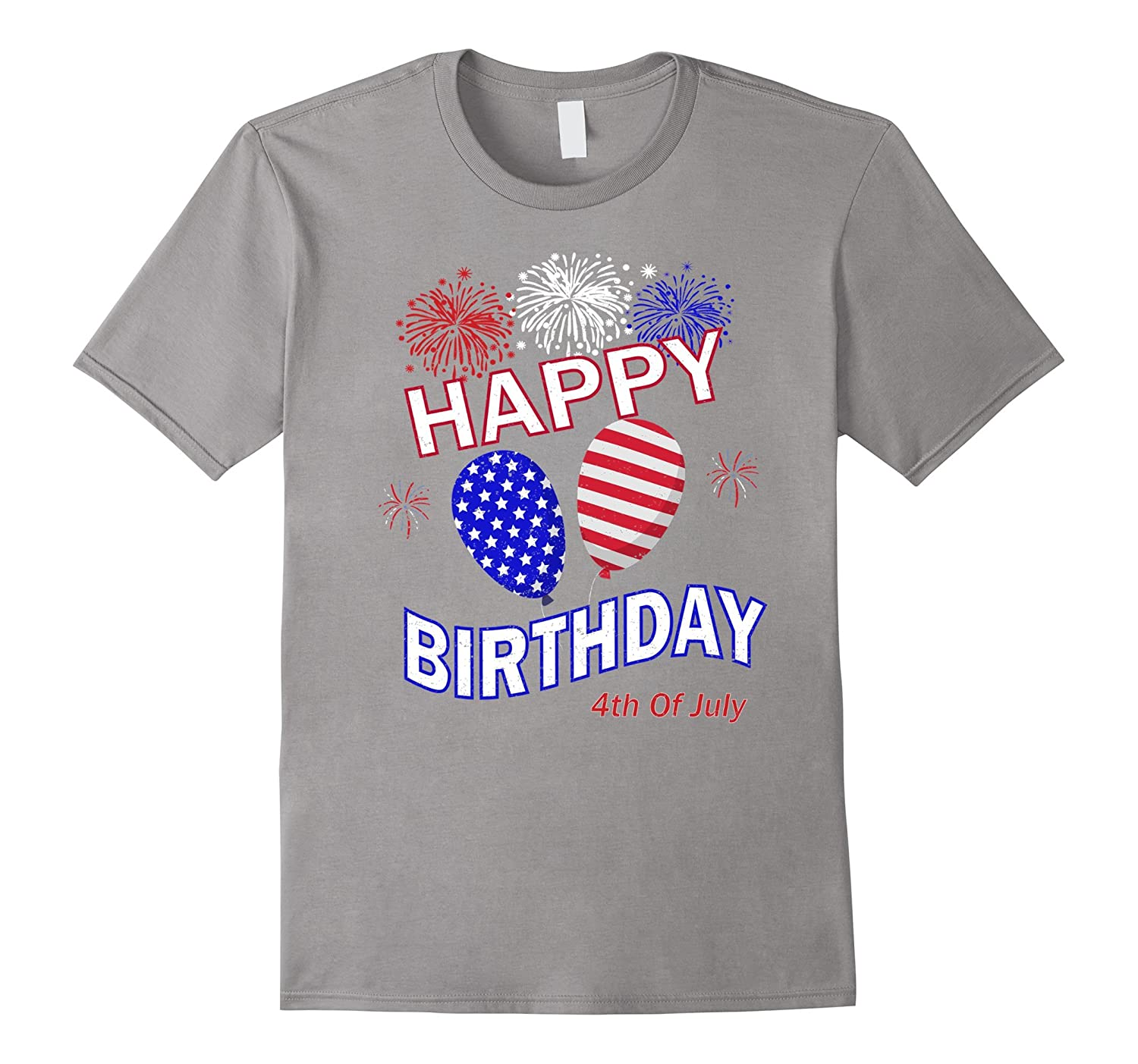 Happy 4th Of July Birthday Celebration T Shirt Pl