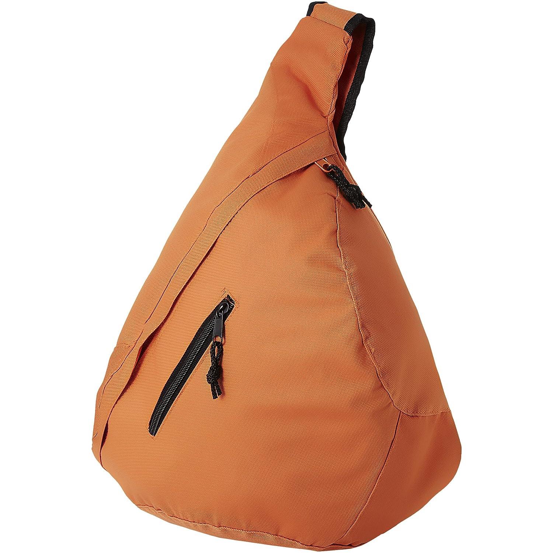 Sac /à bandouli/ère Triangle /épaule sac /à dos sac poche poitrine avec poche avant en bleu