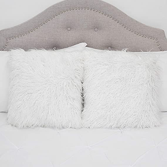 Amazon.com: Sweet Home Collection Almohada decorativa con ...