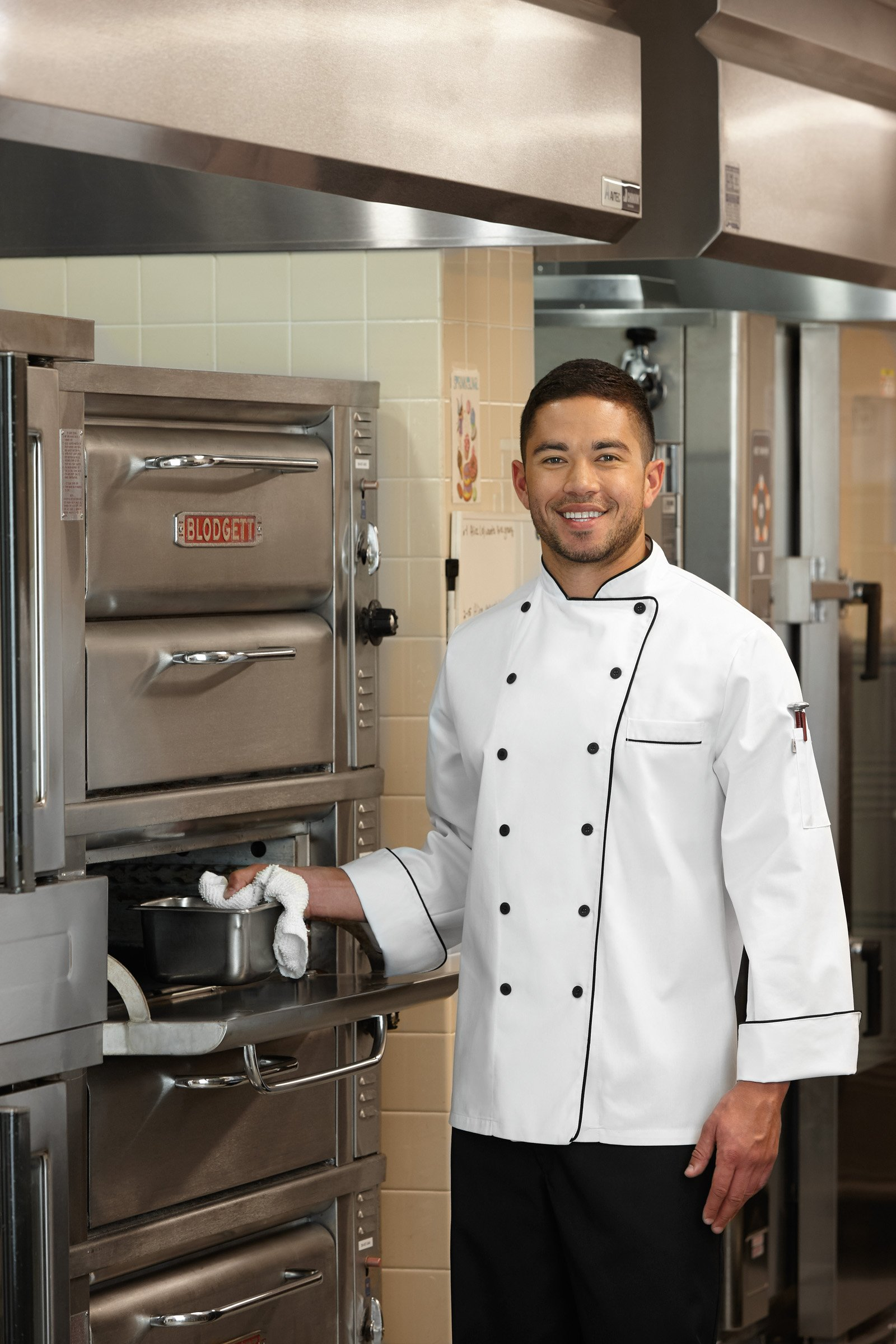 Five Star 18120 Unisex Executive Chef Coat (White, XXX-Large) by Five Star (Image #2)