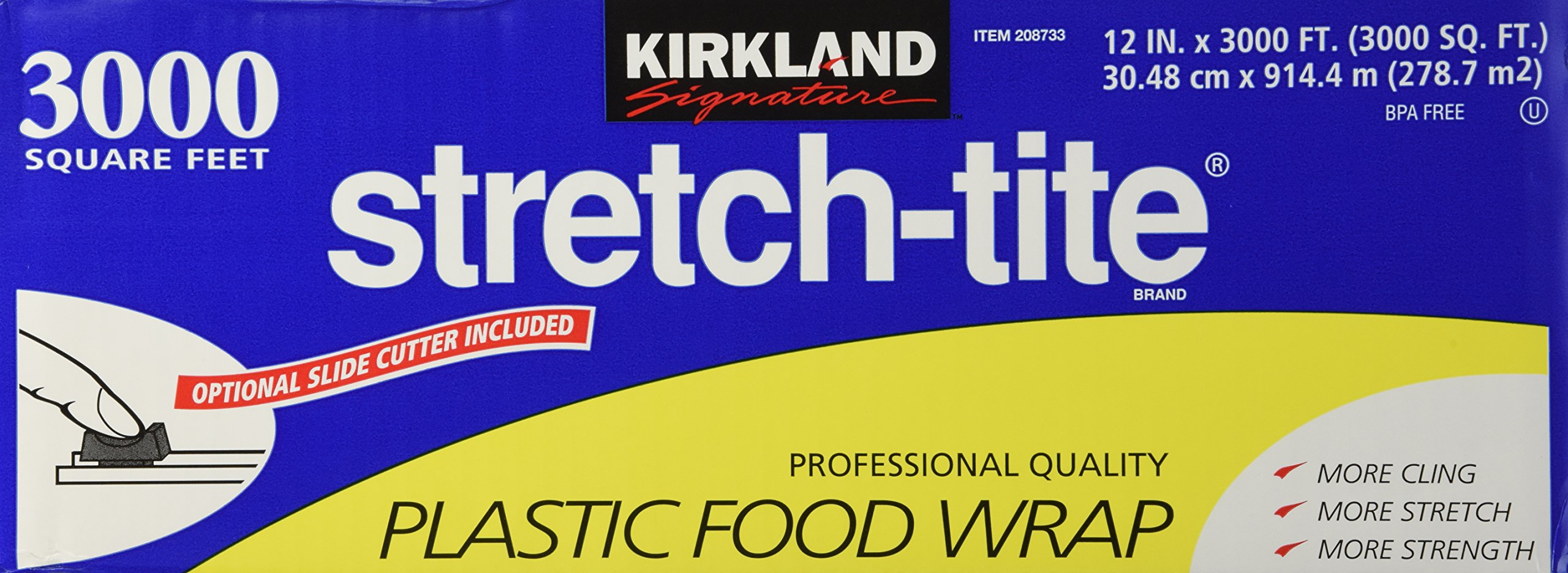 Stretch-tite 3000 sq. ft by Kirkland Signature