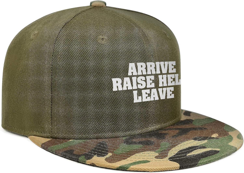 Newpz Bearded Inked /& AwesomeUnisexCamouflage Versatile Comfort Cap Camouflage Snapback Cap