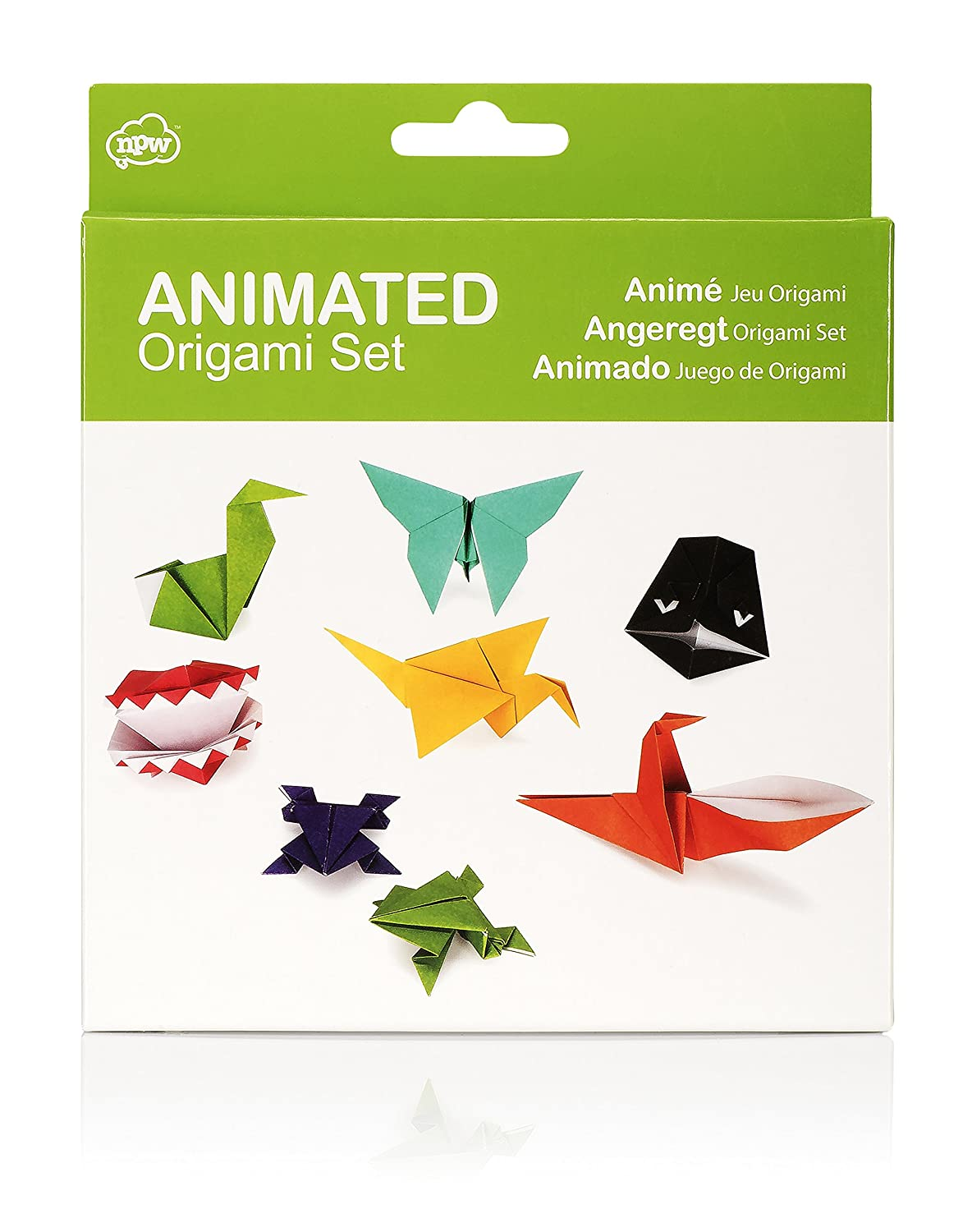 Npw Usa 5 Minute Origami Kit Home Kitchen Mouse Origamiorigami Diagramorigami Instructionsorigami